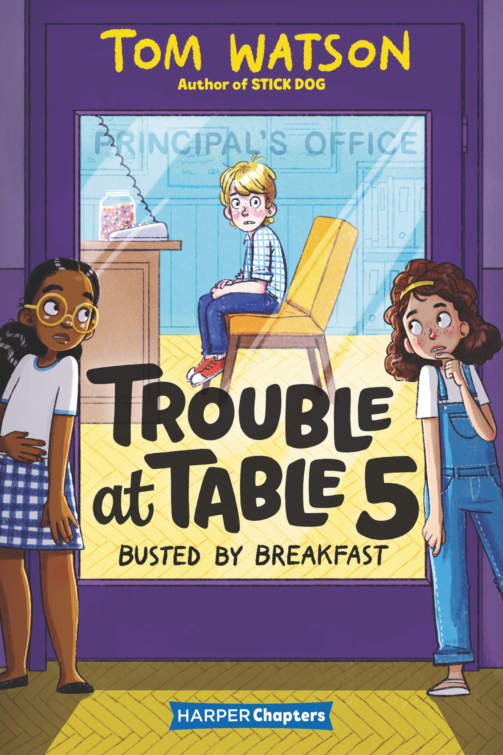 Trouble at Table 5 Busted by Breakfast